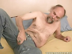 Daddy's strange jerkoff toy tubes