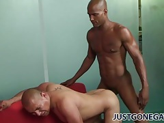 Asshole fucked by big black boner in ebony gay video tubes