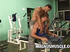 Charles russells and rick masone - muscle bound freaks ana workout tubes