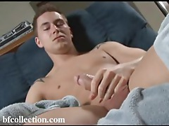 Twink stars in the mirror then masturbates like crazy tubes