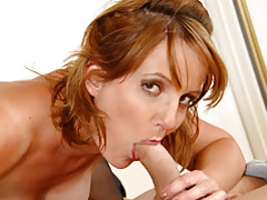 Mature sadie gets pounding by young stud tubes