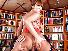 Housewife reverse cowgirl tubes