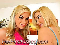 Lesbian babes touching tits tubes
