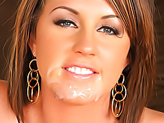 Creamy facial for a slut tubes