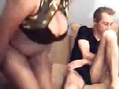 Bbw gets fucked on her webcam tubes