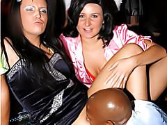 Drunken club orgy tubes