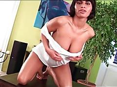 Beauty has a sexy set of big natural tits tubes