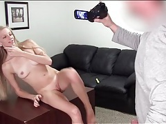 Blonde amateur fuck video with a creampie tubes