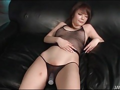 Shaved japanese slut moans during toy sex tubes