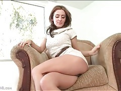 Flawless beauty in sexy sweater dress tubes