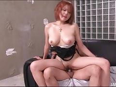 Busty japanese slut sara fucked from behind tubes