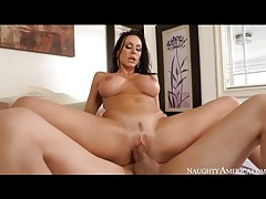 Cock riding milf kendra lust on a big one tubes