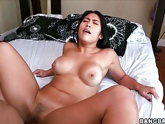 Mia li gives sultry blowjob and gets fucked tubes
