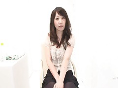 Japanese girl in sexy blouse and skirt tubes
