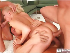 Anal enema prepares girl for hot gangbang tubes