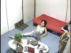 Hidden camera japanese masturbation scene tubes