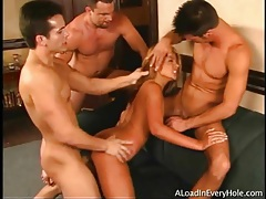 Latina double penetrated by big cock dudes tubes