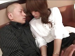 Sexy girl in pantyhose straddles him in hotel tubes