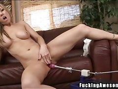 Carolyn reese gives dildo a hot titjob tubes