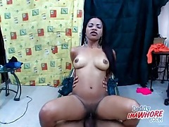 Big cock blown by slutty latina girl tubes