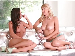 Abigail mac topless chat session with a blonde tubes
