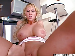 Incredible pov cock ride with big tits blonde tubes