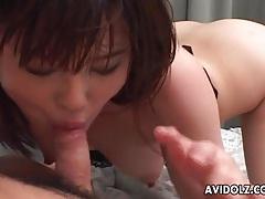 Cute japanese girl finger banged by her man tubes
