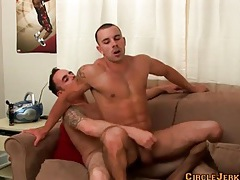 Dude with tight abs fucks ass and gets laid tubes