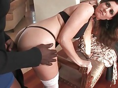 India summer blows a black guy passionately tubes