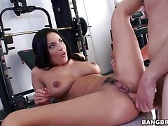 Big cock fills pussy and ass of anissa kate tubes