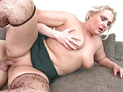 Chubby mature in stockings fucked hardcore tubes