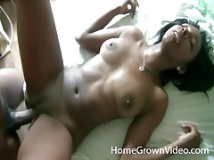 Knob gobbling black gf fucked in her hot box tubes