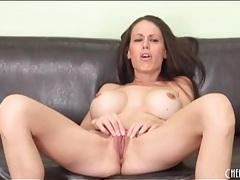 Milf mckenzie lee models her fake tits tubes