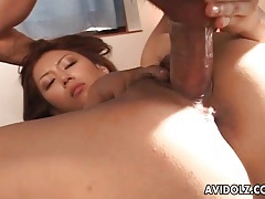 Japanese fuck video with close up facial tubes