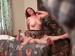 Curvy couple in hardcore fuck video tubes