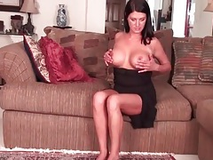 Big round milf tits are super hot tubes