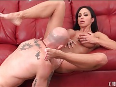 Jewels jade gives head and gets licked tubes