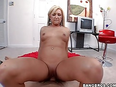 Slow pov cock riding with horny blonde slut tubes