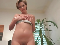 Teenager roxy mendez toys her wet pussy tubes