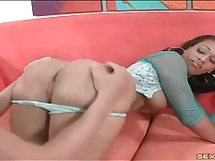 Big ass looks smoking hot in sex scene tubes