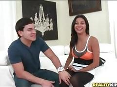 Jade jantzen teases her hot young ass in pantyhose tubes