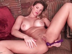 Vibrator makes this hot mom moan tubes