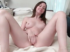 Ally evans toys her cunt and fingers her ass tubes
