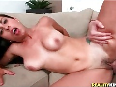 Hot sex with a limber slut sitting on his dick tubes