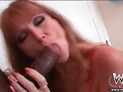 Milf darla crane gives good head to bbc tubes