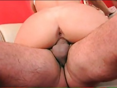 Bleach blonde screwed in double penetration porn tubes