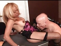 Office blowjob and anal with shemale milf tubes