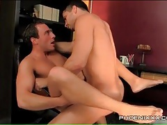 Gay bottom with his legs open for anal fuck tubes