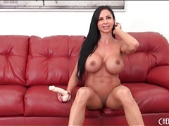 Fit and foxy jewels jade fucks a dildo tubes