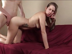 Lelu love cuckold phone sex with a hot cumshot tubes